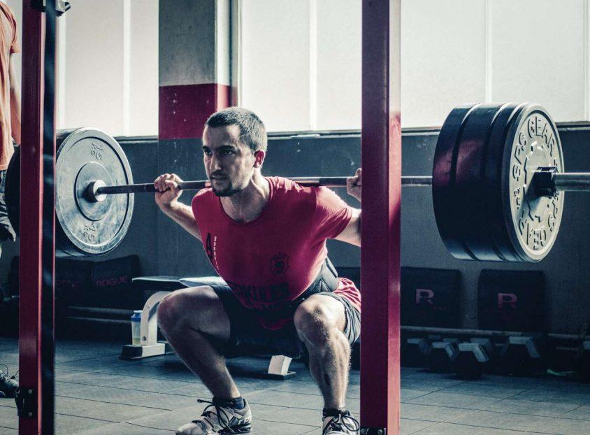 RESET Mobility Belastungssteigerung Schulter Kniebeuge